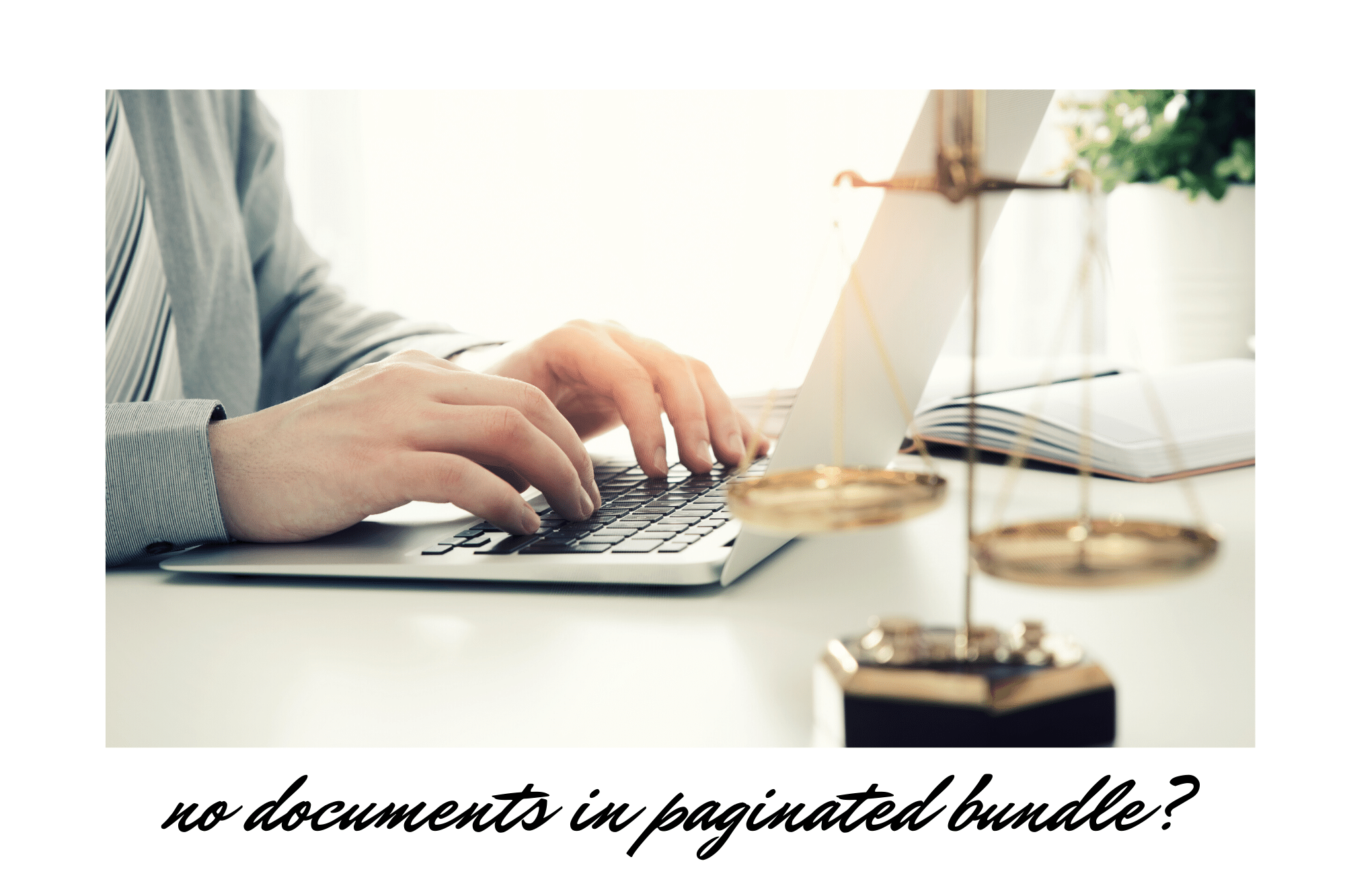 no documents in the paginated bundle